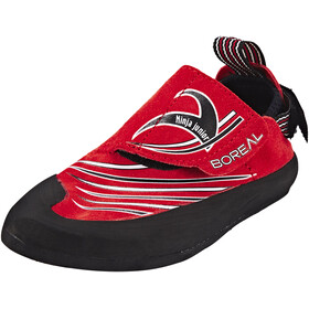 Boreal Ninja Junior Climbing Shoes Kids rojo